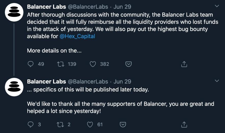 Balancer's Labs